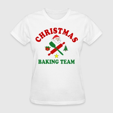Christmas Baking Team - Women's T-Shirt