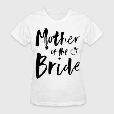 Slut Mothers Womens Pink Mother Of The Bride Bridal Party wife - Women's T-Shirt