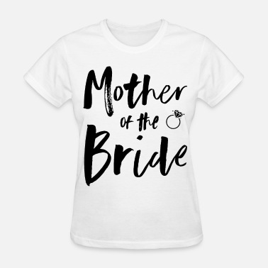 Slut Bride Womens Pink Mother Of The Bride Bridal Party wife - Women's T-Shirt
