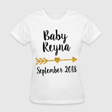 Pregnancy announcement bodysuit pregnancy announce - Women's T-Shirt