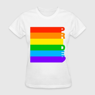Homosexual Porn Gay Pride Tank Top LGBT Support Respect Rainbow Bi - Women's T-Shirt