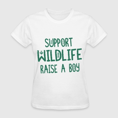 Mom Boy Boy Mom Boy Mom Boy Mom Hunting Mom Life Wildlife - Women's T-Shirt