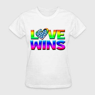 Love Wins Gay Marriage Equality - Women's T-Shirt