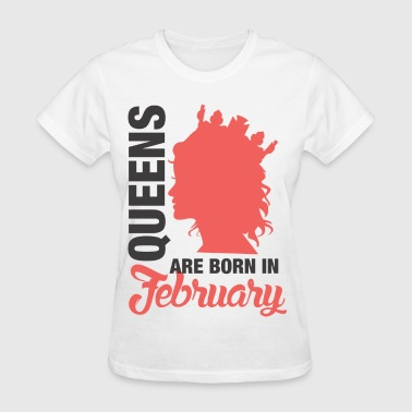 Born In February - Women's T-Shirt