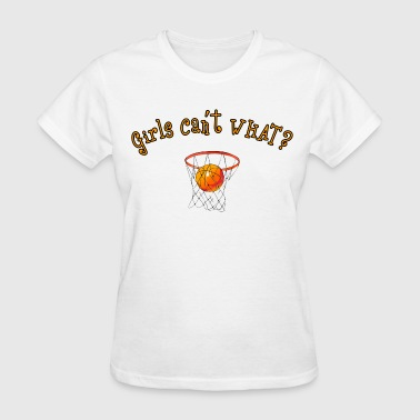 girlbasketball - Women's T-Shirt