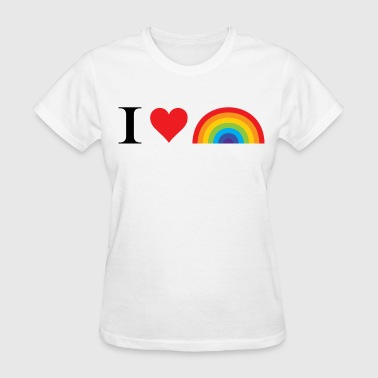I Support Same Sex Marriage I Love Lgbt - Women's T-Shirt