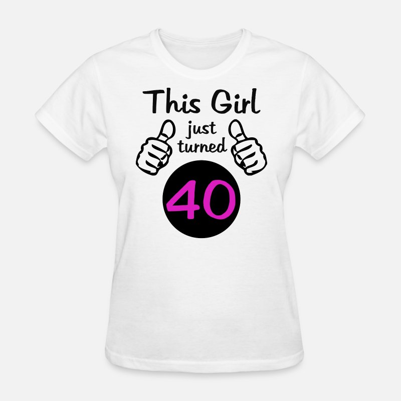 This Girl 40th Birthday By Thebestbirthdayshirts
