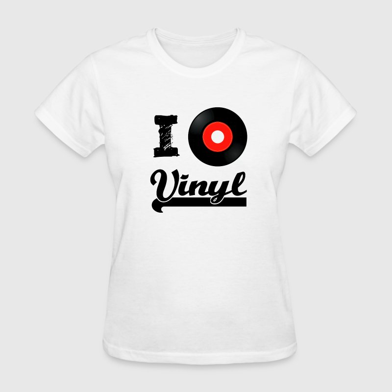 I love Vinyl - Women's T-Shirt