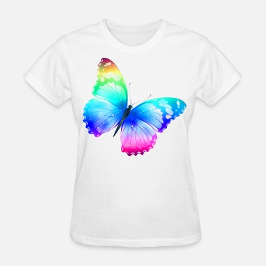 Colorful colorful butterfly - Women's T-Shirt