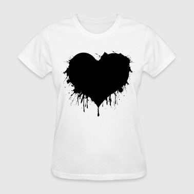 Black Heart - Women's T-Shirt