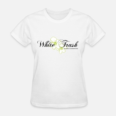 Planner white trash wedding coordinators planner - Women's T-Shirt
