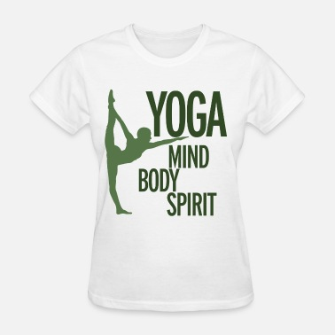 Body Mind Spirit YOGA for mind body and spirit  - Women's T-Shirt