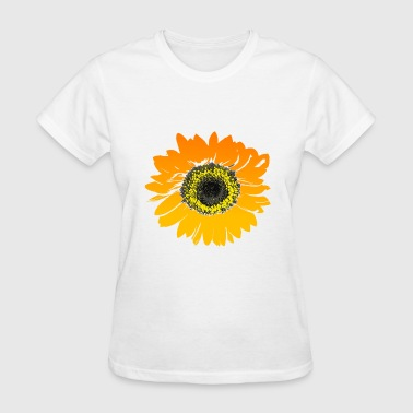 Sunflower Flower Art Desi - Women's T-Shirt