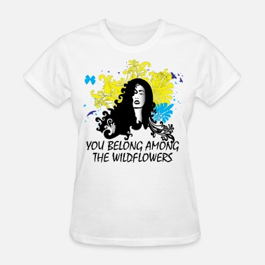 Tom Petty You Belong Among the Wildflowers - Women's T-Shirt