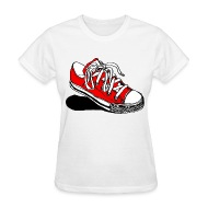 converse off the wall t shirt