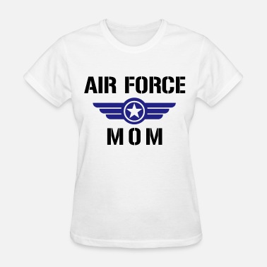Air Force Dad Air Force Mom - Women's T-Shirt