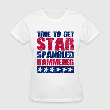 Star Spangled Hammered - Women's T-Shirt