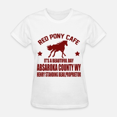 Red Pony Cafe RERDRR.png - Women's T-Shirt