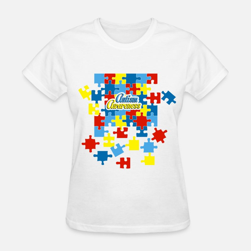 Autism Awareness T-Shirts - autism_awareness - Women's T-Shirt white