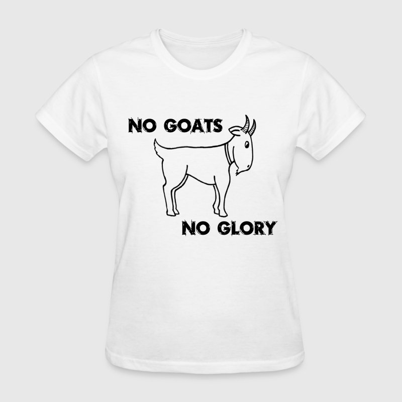 No Goats No Glory Men Who Stare At Goats - Women's T-Shirt
