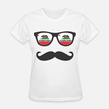 Mr Swag Mr Mustache California - Women's T-Shirt