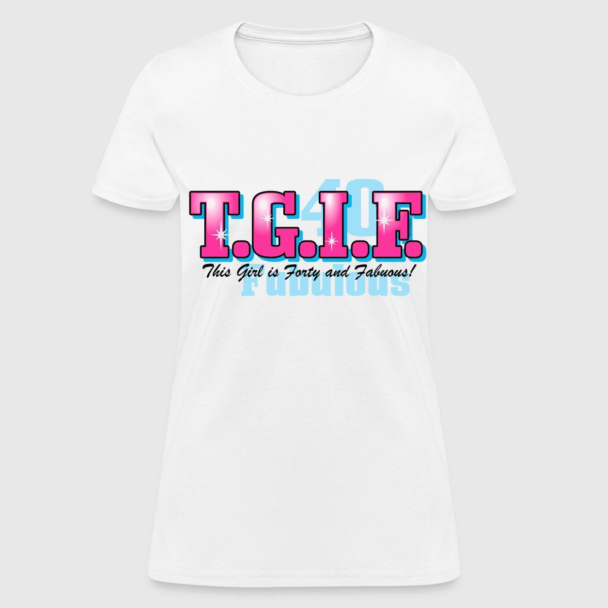 00fdba130 40th Birthday Shirts For Women