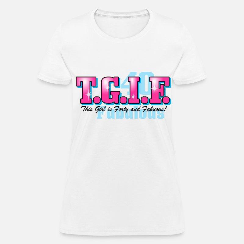 TGIF 40th Birthday By PinkInkArt