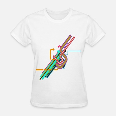 Inkloosive Neon Arrows - Women's T-Shirt