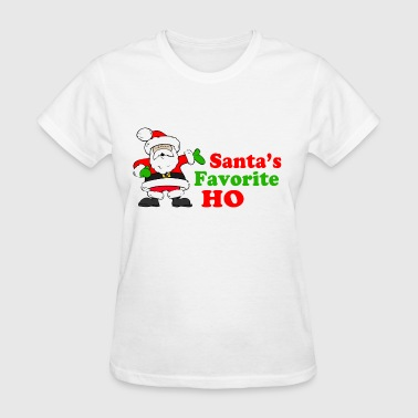 Santa's Favorite Ho! - Women's T-Shirt