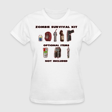 Left 4 Dead 2 Zombie Survival Kit - Women's T-Shirt