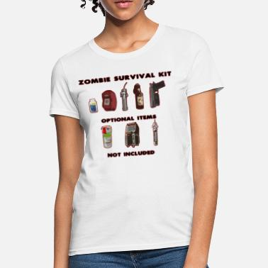 Left 4 Dead Zombie Survival Kit - Women's T-Shirt