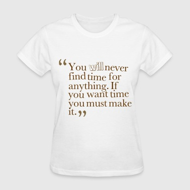 amazing quote to inspire - Women's T-Shirt