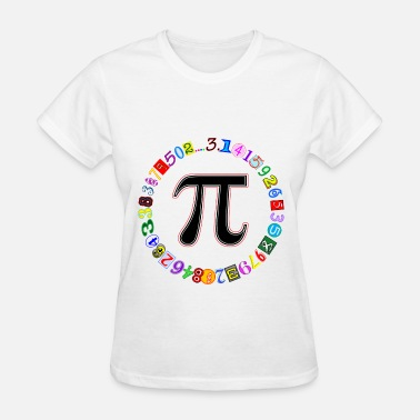 Pi Circle Circle of Pi - Women's T-Shirt