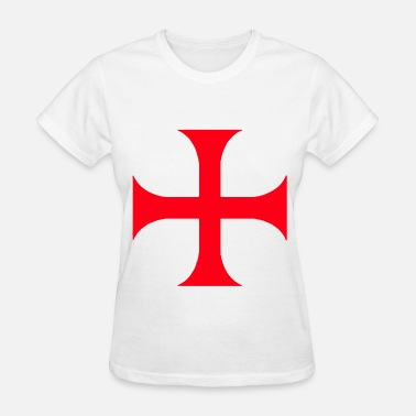 Red Cross Rescue Templar red cross - Women's T-Shirt