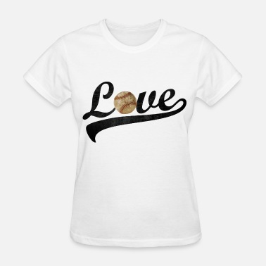 Baseball Love love baseball - Women's T-Shirt