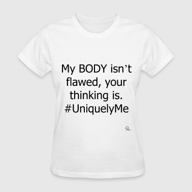 BODY Positive Quotes Tee - Women's T-Shirt