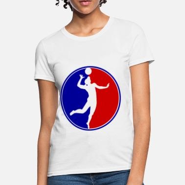 Volleball WOMAN VOLLEBALL1.png - Women's T-Shirt