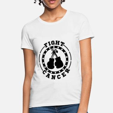 Fight FIGHT CANCER 1.png - Women's T-Shirt