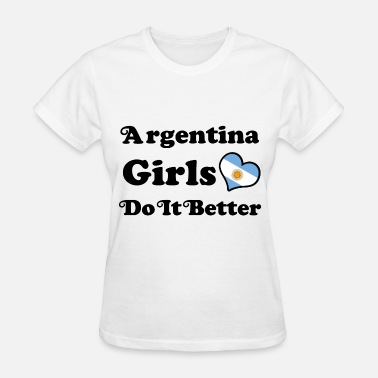 Argentina Girls argentina girl 11234.png - Women's T-Shirt