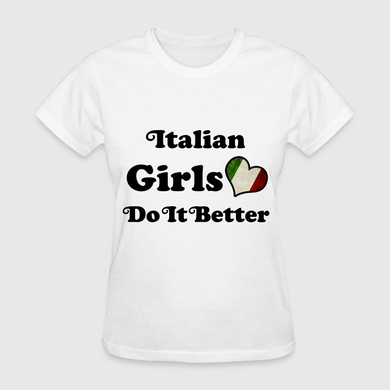 italian girl 2453434.png - Women's T-Shirt
