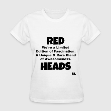 REDHEAD Quotes Tee #13 - Women's T-Shirt
