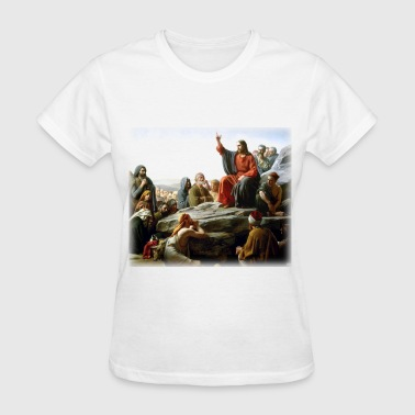 Bloch carl_heinrich_bloch__sermon_on_the_mount - Women's T-Shirt