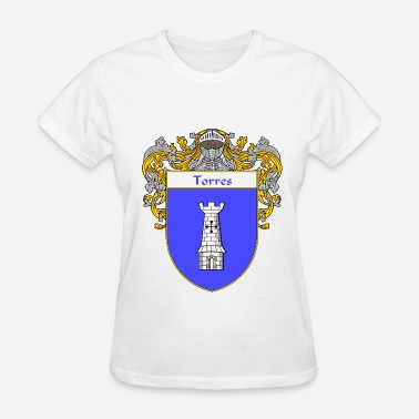 Mexican Style Torres Coat of Arms/Family Crest - Women's T-Shirt