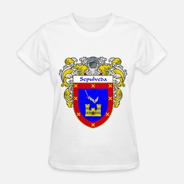 Apellido sepulveda_coat_of_arms_mantled - Women's T-Shirt