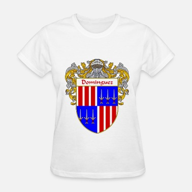 Apellido dominguez_coat_of_arms_mantled - Women's T-Shirt