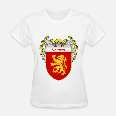 Campos campos_coat_of_arms_mantled - Women's T-Shirt