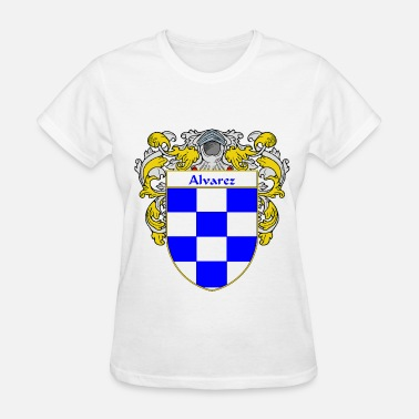 Crest alvarez_coat_of_arms_mantled - Women's T-Shirt