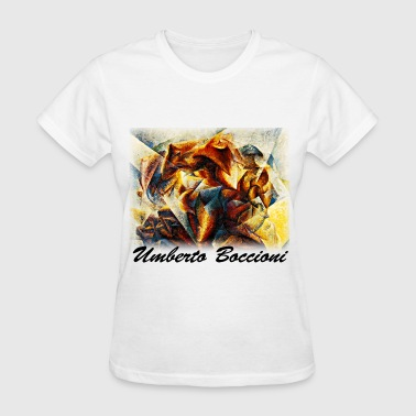 umberto_boccioni__dynamism_of_a_soccer_p - Women's T-Shirt