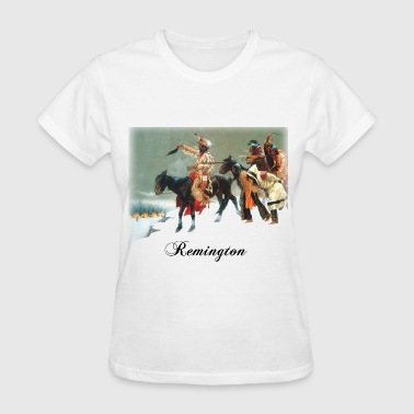 frederic_remington__return_of_the_blackf - Women's T-Shirt