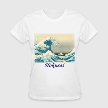 hokusai__under_the_wave_off_kanagawa - Women's T-Shirt